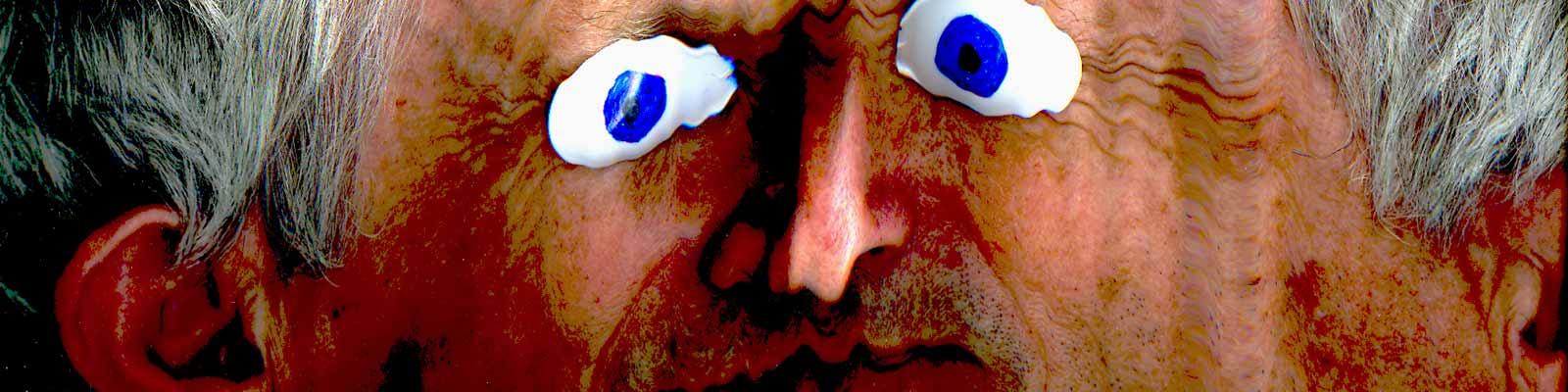 Autoportrait aux yeux bleus